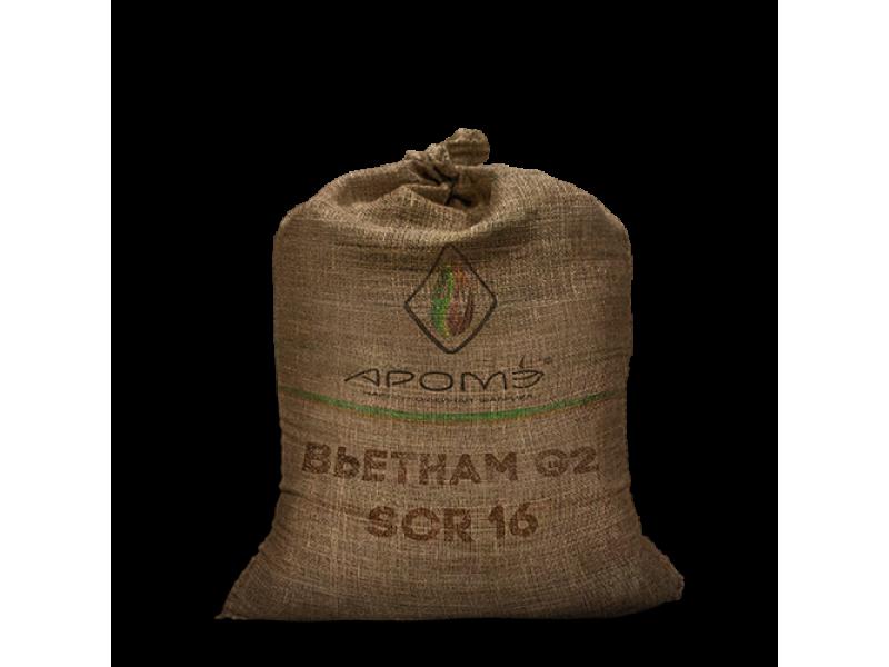 Вьетнам G2 scr 16, clean, 0,1% Black, 0,3% Brokens, 60 кг
